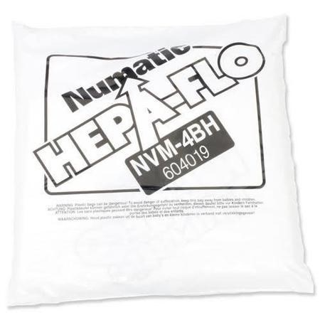 Numatic 604019 HEPAFLO FILTER BAGS
