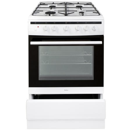 Amica 608GG5MSW 60cm Single Oven Gas Cooker - White