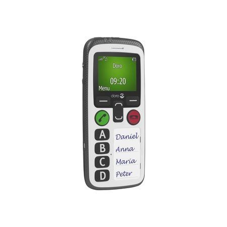 Doro Secure 580 White 3G SIM Free - Elderly and Vunerable Friendly with GPS Tracking - Hearing Aid Compatible