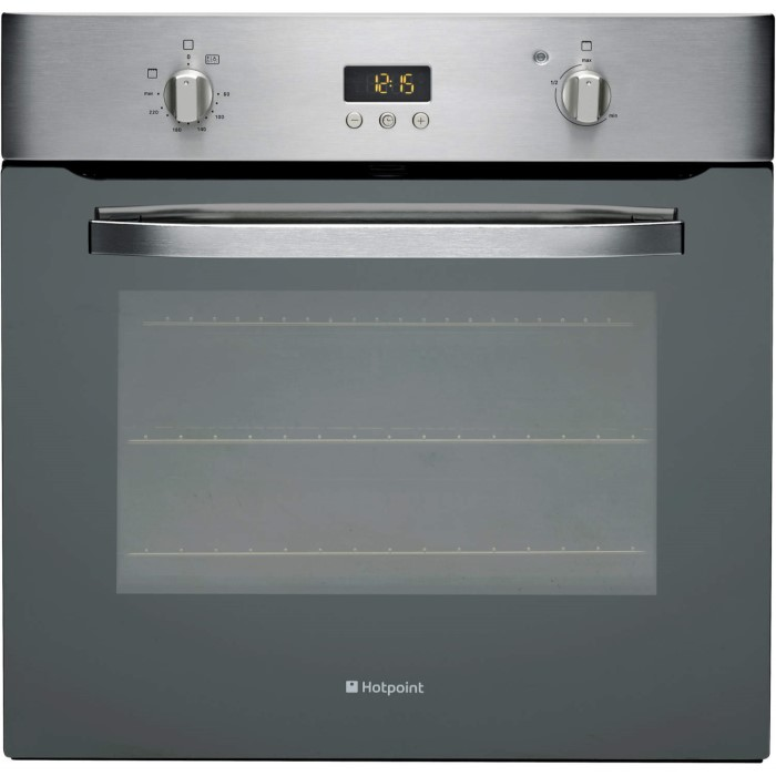 Hotpoint Shs33xs Electric Built In Single Fan Oven Stainless Steel