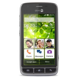 "Doro Liberto 820 Mini Black/Steel 4"" 4GB 3G Unlocked & SIM Free"