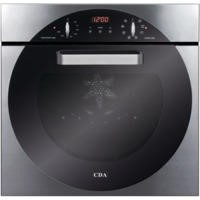 GRADE A2 - CDA 6Q5SS 8 Function Electric Built In Single Oven in Stainless steel