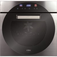 CDA 6Q6SS 10 Function Electric Built In Single Oven in Stainless steel