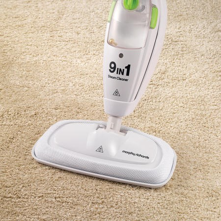 Morphy Richards 720020 9 In 1 Upright & Handheld Steam Cleaner - White