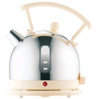 Dualit 72702 1.7lt Cream Cordless Dome Kettle With Window