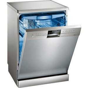 GRADE A2 - Siemens SN26M892GB 14 place Freestanding Dishwasher in silver inox