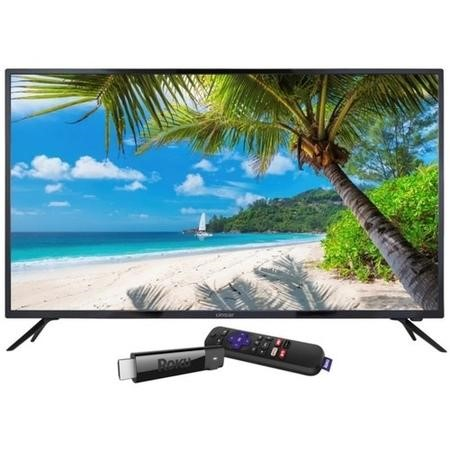 "Linsar 75UHD520 75"" 4K Ultra HD LED TV with Roku Streaming Smart TV Stick"