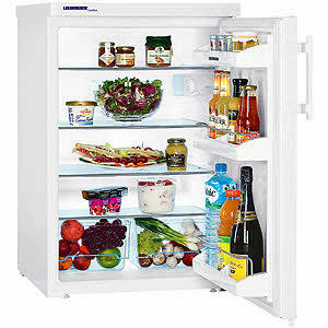 GRADE A3 - Liebherr Table Height Freestanding Fridge in White