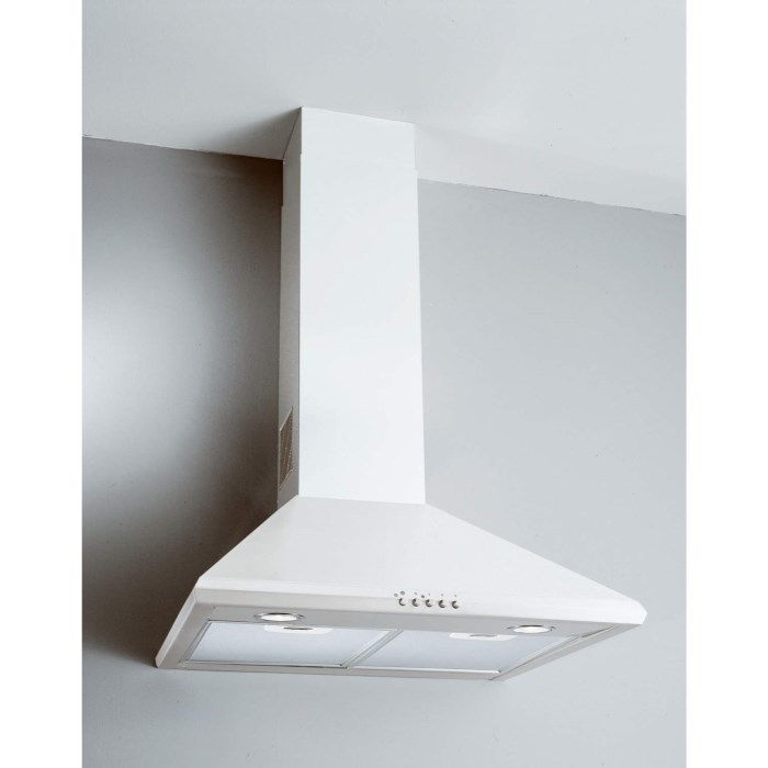 Candy Cct685w 60cm Chimney Cooker Hood White Appliances