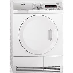 AEG T75380AH2 White 8kg Freestanding Condenser Tumble Dryer