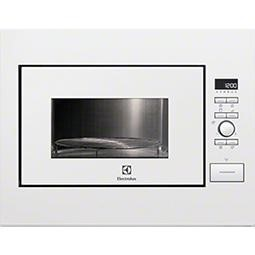 GRADE A2  - Electrolux EMS26204OW 990W 26L Built-in Microwave With Grill White