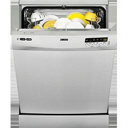 GRADE A3  - Zanussi ZDF26011XA 13 Place Freestanding Dishwasher Stainless Steel