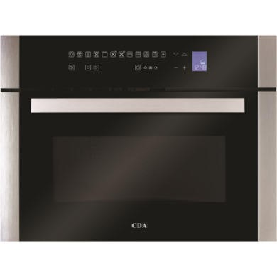 77222907/1/VK900SS GRADE A3 - Heavy cosmetic damage - CDA VK900SS 34L 900W Compact Height Combination Microwave Oven Stainless Steel