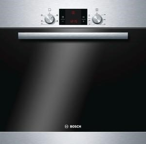 77224939/1/HBA13B150B GRADE A1 - As new but box opened - Bosch HBA13B150B Classixx Brushed Steel 3D Hot Air Electric Built-in/under Single Oven