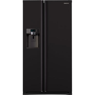 77230935/1/RSG5MUBP1 GRADE A3 - Heavy cosmetic damage - Samsung RSG5MUBP1 G-series 615 Litre Gloss Black American Fridge Freezer With Ice And Water Dispenser