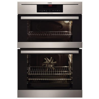 77237887/1/77232602/1/DC7013021M GRADE A1 - As new but box opened - AEG DC7013021M Competence Electric Built-in Double Oven Stainless Steel