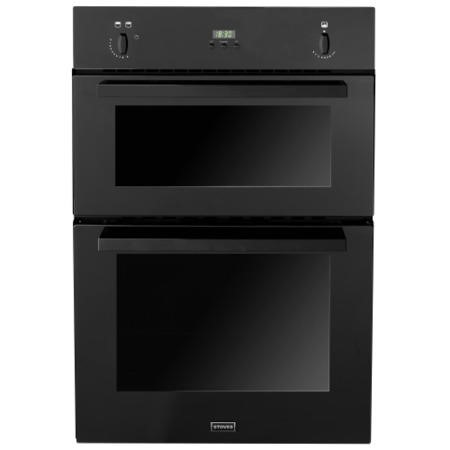 Stoves SGB900PS Gas Built In Double Oven in Black