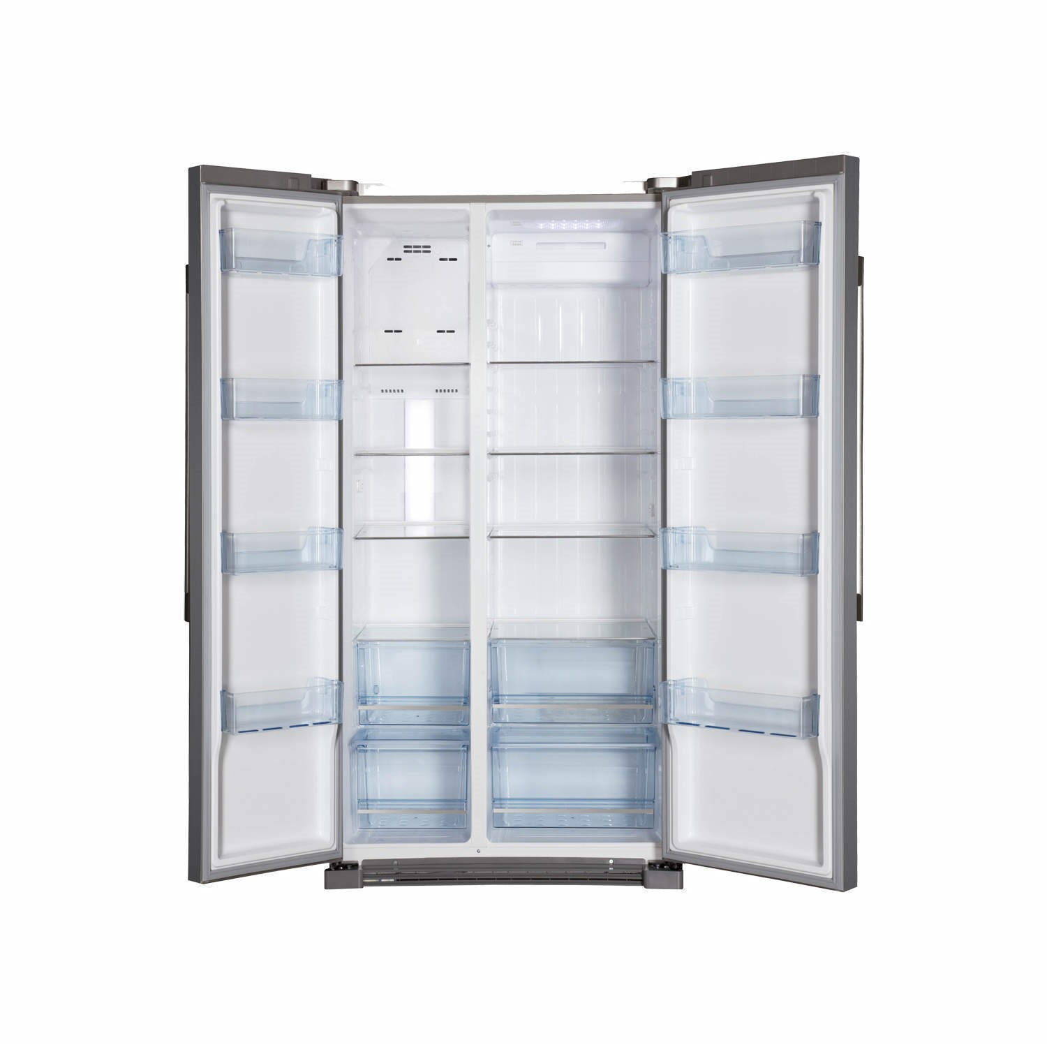 haier hrf628df6 570l frost free american fridge freezer stainless steel look - Frost Free Freezer