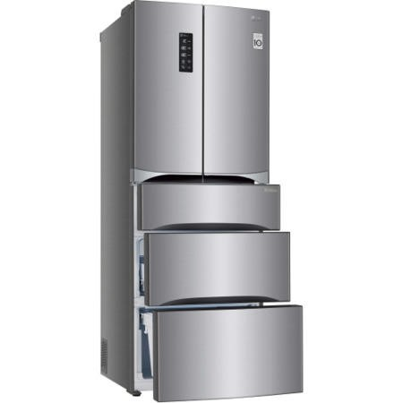 GRADE A2 - LG GB6140PZQV Freestanding Fridge Freezer
