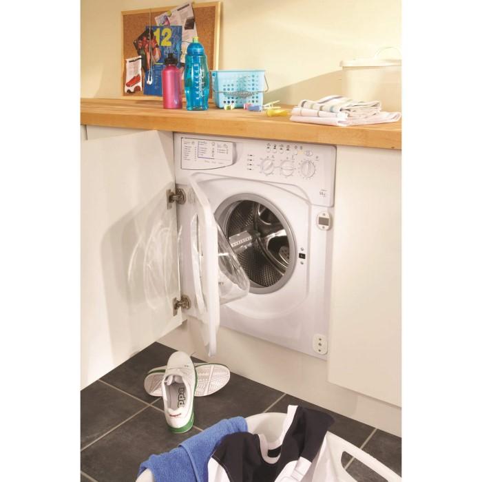 Indesit IWME147 7kg 1400rpm Integrated Washing Machine ...