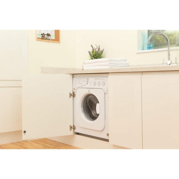 Indesit Iwme147 7kg 1400rpm Integrated Washing Machine White