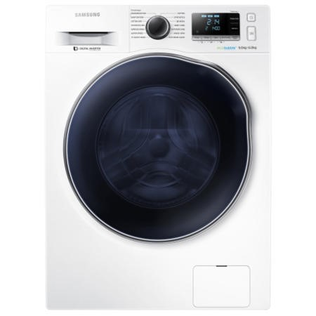 Samsung WD90J6410AW EcoBubble 9kg Wash 6kg Dry 1400rpm Freestanding Washer Dryer-White
