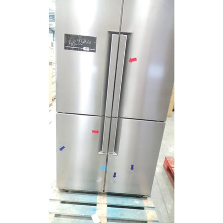GRADE A3 - Servis FD911X Large Capacity American Fridge Freezer Stainless Steel