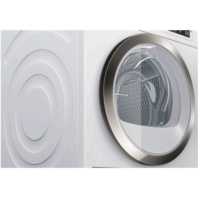 Bosch Dryer bosch wtw87560gb 9kg a++ freestanding heat pump condenser tumble