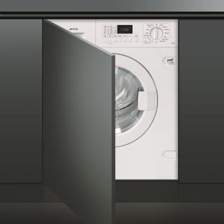 Smeg WDI147 7kg Wash 4kg Dry 1400rpm Fully Integrated Washer Dryer - White