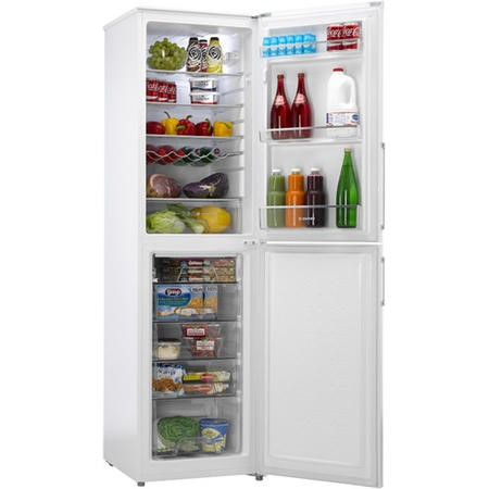 Hoover HVBF5192WHK 197 x 55cm Frost Free Freestanding Fridge Freezer - White
