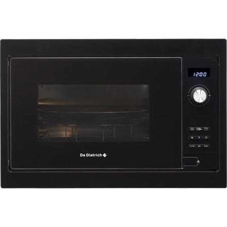 GRADE A3 - De Dietrich DME1129B Built in Microwave and Grill - Black