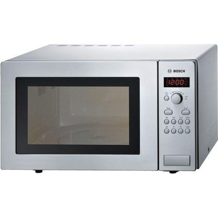 Bosch HMT84M451B 25L 900W Freestanding Microwave in Brushed steel