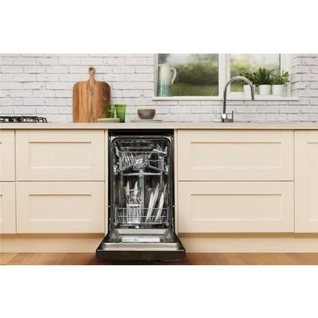 Hotpoint Aquarius SIAL11010K 10 Place Slimline Freestanding Dishwasher - Black