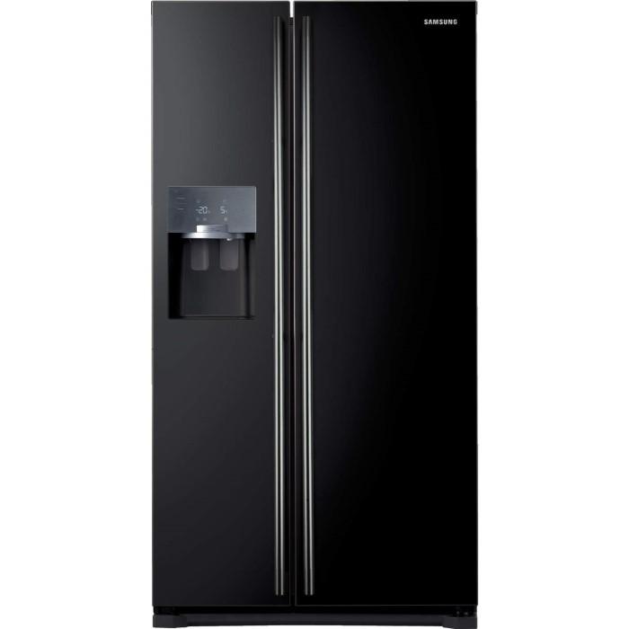 Samsung RS7567BHCBC 532L American Freestanding Fridge Freezer - Black