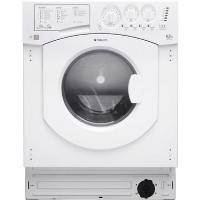Hotpoint BHWD1291 6.5kg Wash 5kg Dry 1200rpm Integrated Washer Dryer - White