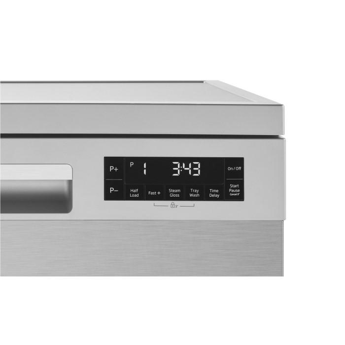 beko dfn28j21x aquaintense 14 place freestanding dishwasher with prosmart inverter motor. Black Bedroom Furniture Sets. Home Design Ideas