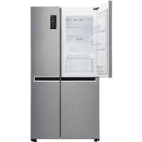 GRADE A2 - LG GSM760PZXZ Frost Free American Style Refrigerator - Stainless Steel Best Price, Cheapest Prices