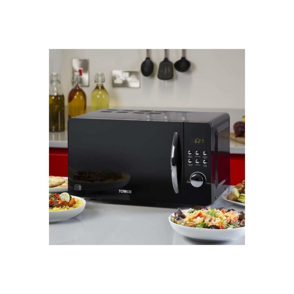 Tower T24012 800 Watt 20 Litre Freestanding Microwave Oven