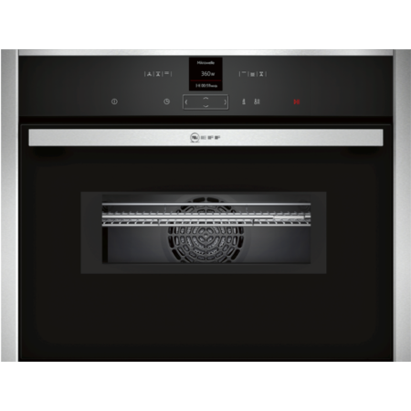NEFF C17MR02N0B N70 45L Built-in Combination Microwave Oven - Stainless Steel
