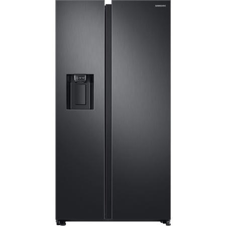 Samsung RS68N8240B1 Side-by-side American Fridge Freezer With Ice & Water Dispenser - Black