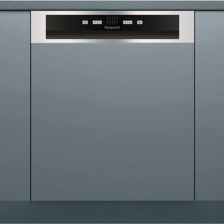 Hotpoint HBC2B19X 13 Place Semi-integrated Dishwasher With Stainless Steel Control Panel