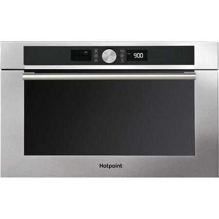 GRADE A3 - Hotpoint MD454IXH 31L Built-in Microwave Oven Stainless Steel