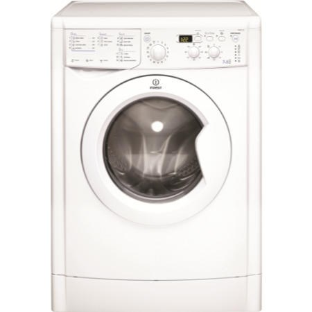 INDESIT IWDD7143 EcoTime 7kg Wash 5kg Dry 1400rpm Freestanding Washer Dryer - White