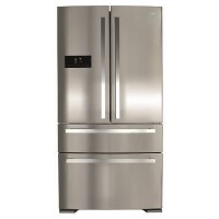 GRADE A3 - CDA PC870SS American Style 2 Door Fridge With Pullout Freezer Drawers - Stainless Colour - Best Price, Cheapest Prices