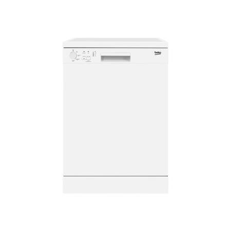 beko DFN04210W A+ 12 Place Freestanding Dishwasher With Quick Wash Options - White