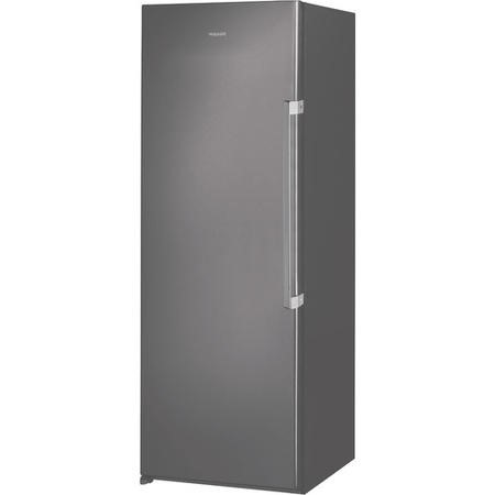 Hotpoint UH6F1CG1 60cm Wide 167cm High Upright Freestanding Frost Free Freezer - Graphite