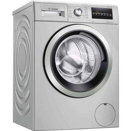 GRADE A1 - Bosch WAN282X1GB Serie 4 VarioPerfect 8kg 1400rpm Freestanding Washing Machine With EcoSilence Drive - Easyclean Stainless Steel