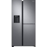 GRADE A3 - Samsung RS68N8670S9 613 Litre American Style Fridge Freezer Frost Free 3 Door 91cm Wide - Silver Best Price, Cheapest Prices