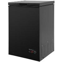 Russell Hobbs RHCF99B 99 Litre Chest Freezer 53cm Deep 57cm Wide - Black Best Price, Cheapest Prices