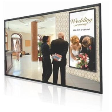 "84"" Black LED Large Format Display, 4K UHD,350 cd/m2, 24/7 Operation"